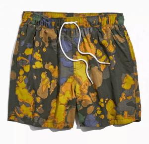 tie dye swim trunks mens