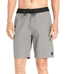 Grey board shorts surfing rip curl