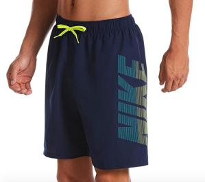 best swim trunks - logo swim trunks nike