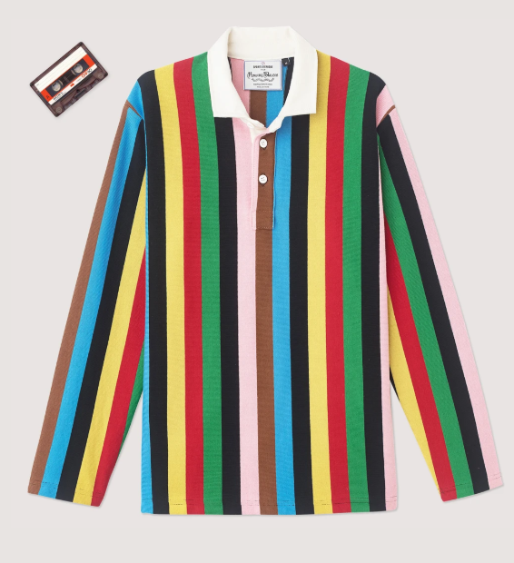 THE CROQUET STRIPE RUGBY