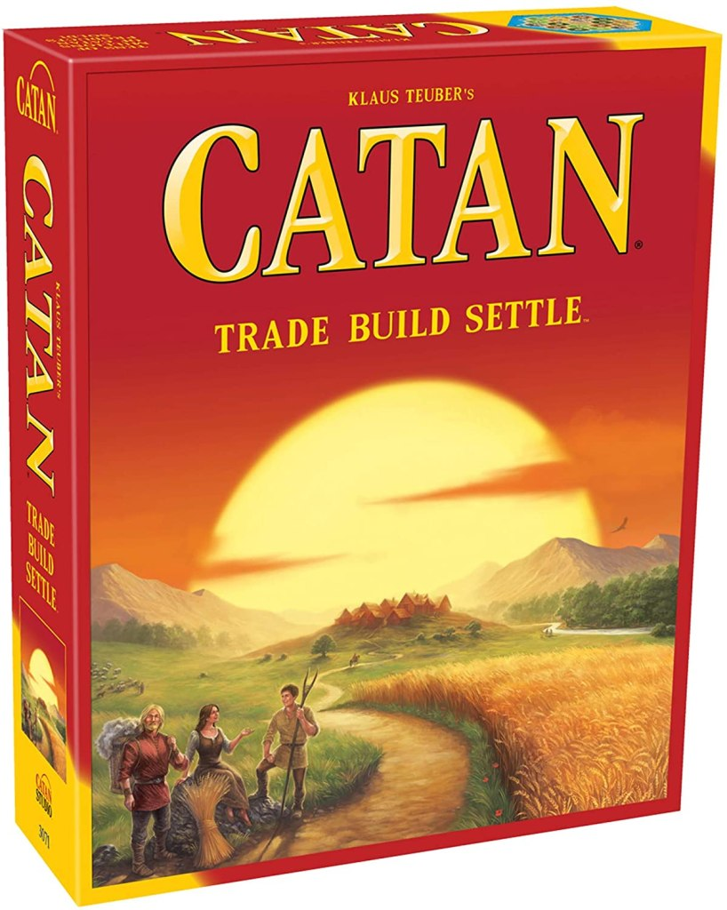 best adult games - settlers of catan