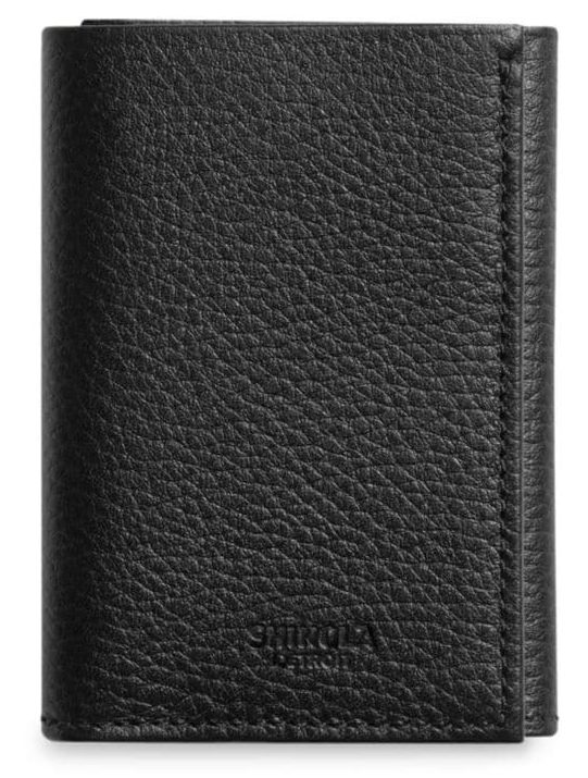 Shinola Trifold Wallet, BEST WALLETS FOR MEN