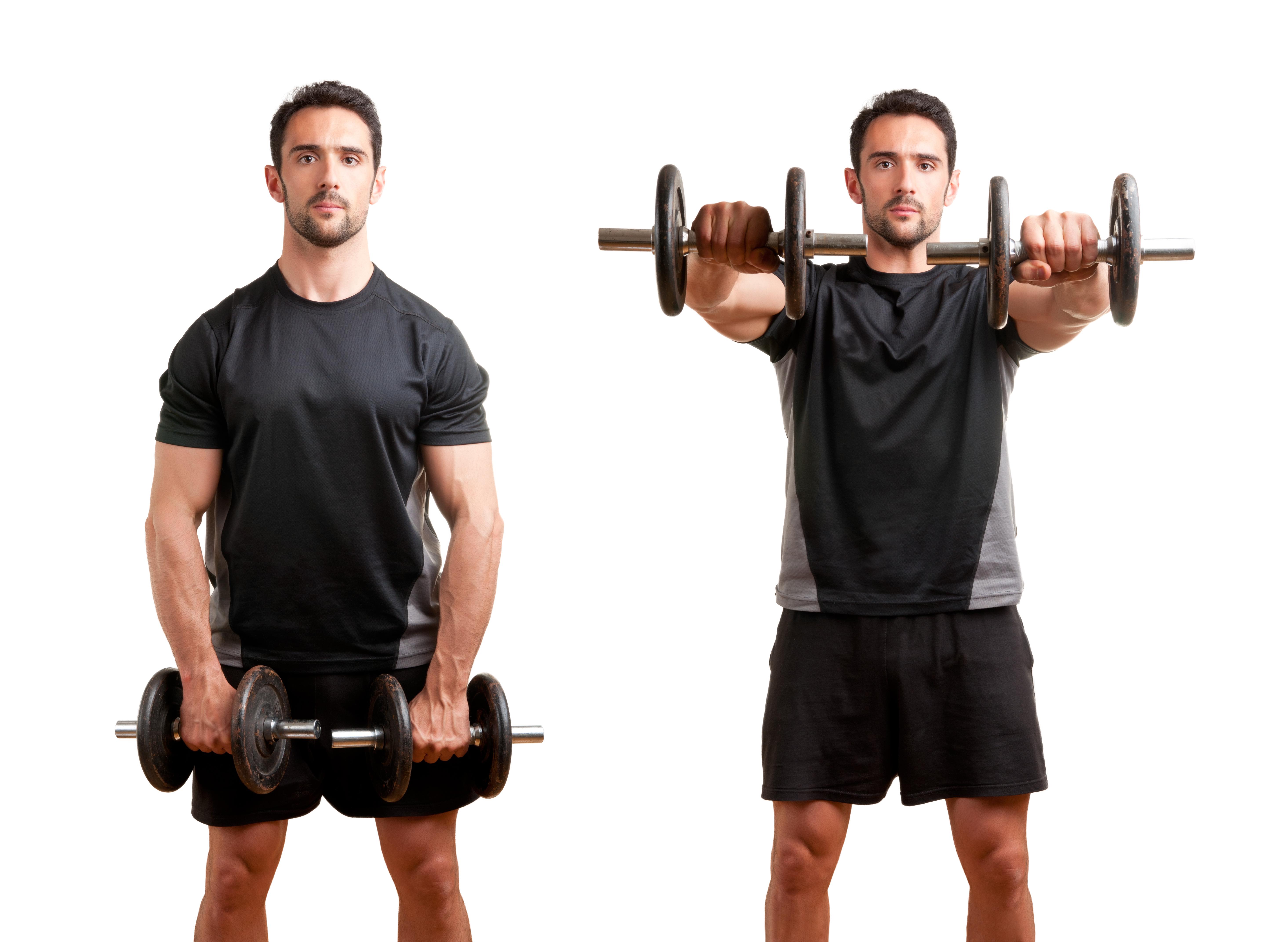 best shoulder workouts Front Raise