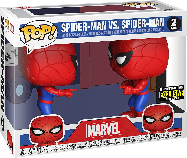spider-man vs spider-man funko pop