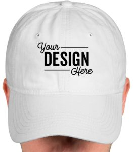 personalized gifts for dad sportsman washed hat