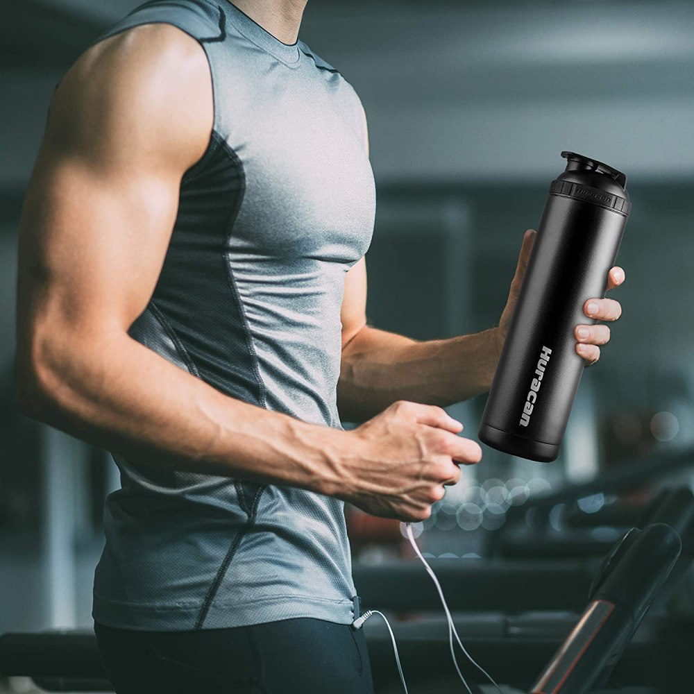 26oz Stainless Steel Shaker Bottle for Protein Shakes Coffee or Other Beverages