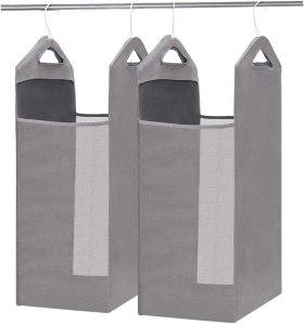 STORAGE MANIAC 2-Pack Hanging Mesh Laundry Hamper