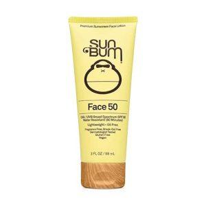 Sun Bum Original SPF 50 Sunscreen Face Lotion