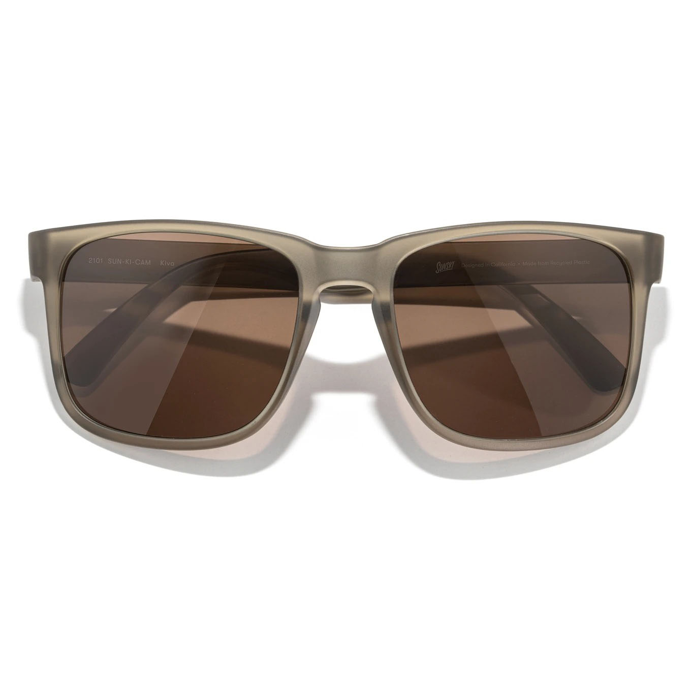 Sunski Kiva Cola Amber Sunglasses