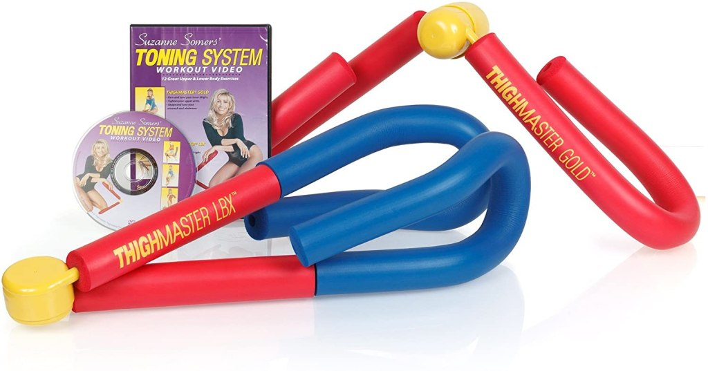 Suzanne Somers Toning System Featuring Thighmaster Gold