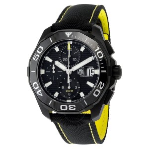 black watch diver tag heuer