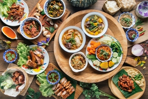 thai food healthy takeout options