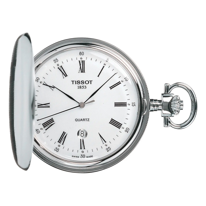 Tissot Unisex Savonnette Pocket Watch