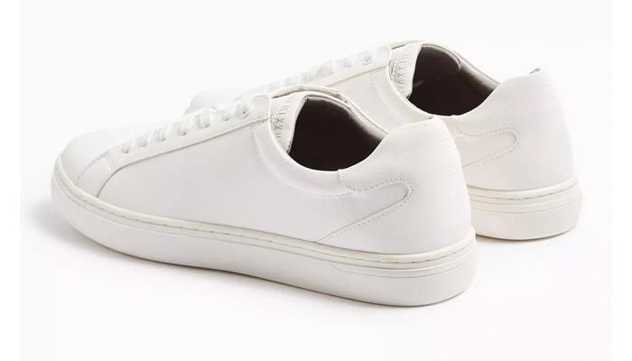 topmans white sneakers
