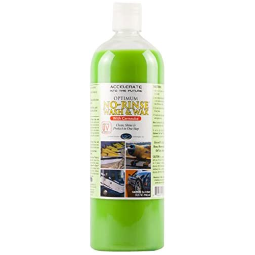 Optimum No Rinse Wash & Wax best car wash soaps