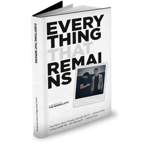 Everything That Remains books on minimalism
