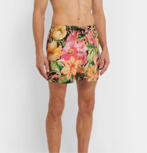 floral swim shorts designer
