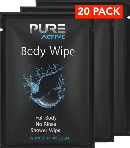 best sweat wipes pure active