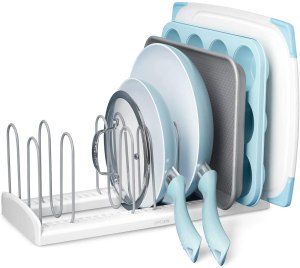 YouCopia StoreMore Adjustable Pan and Lid Rack