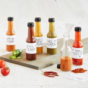 most unique gifts from uncommon goods - Make Your Own Hot Sauce Kit