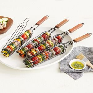 best gifts from uncommon goods - Kabob Grilling Baskets
