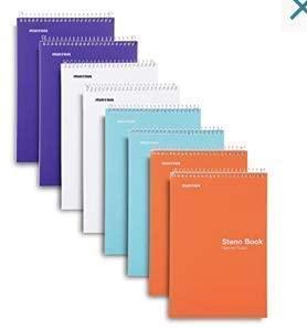 steno books