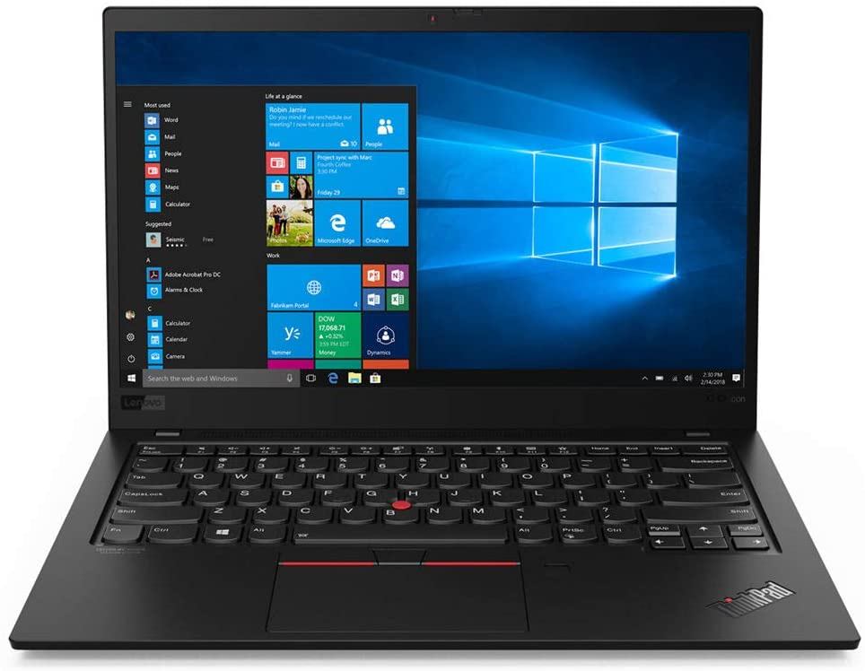 Lenovo ThinkPad X1 Carbon, Best Small Laptop of 2020