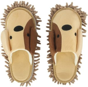 Frjjthchy Cartoon Dog Mop Slippers
