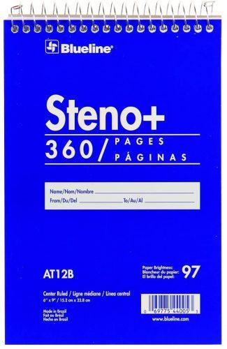 steno book