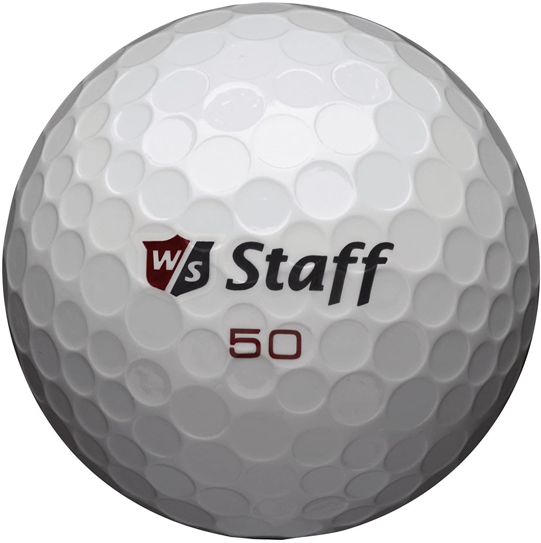 best golf balls for beginners - wilson staff