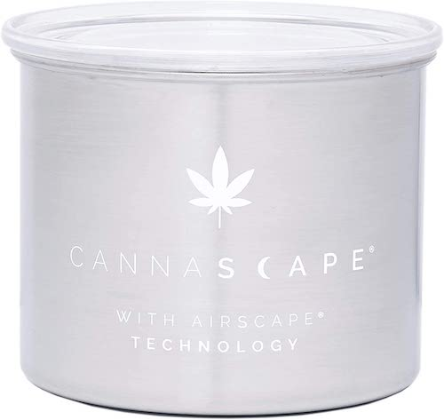 Planetary Design Cannascape Storage Canister With Airscape Technology