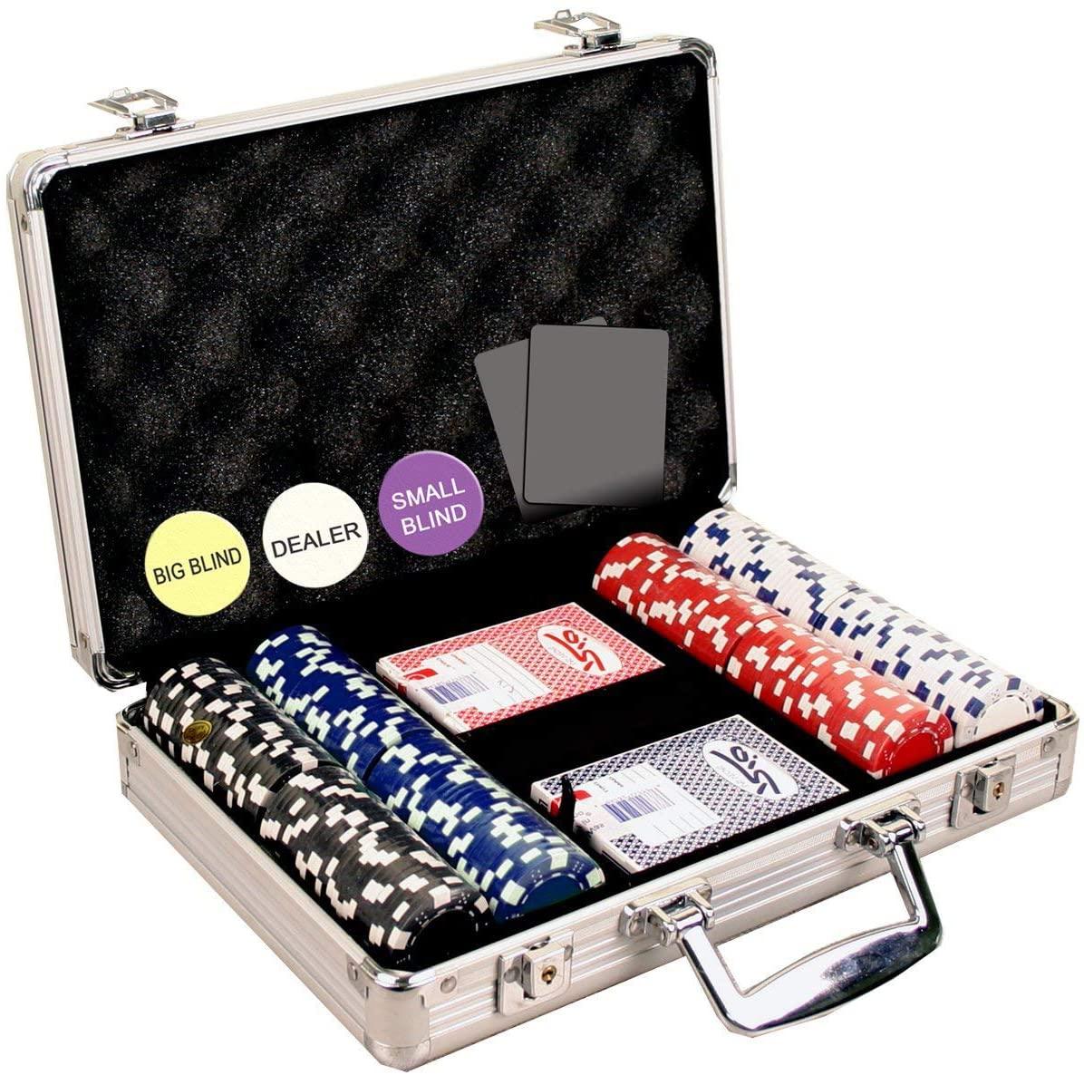 poker set travel case