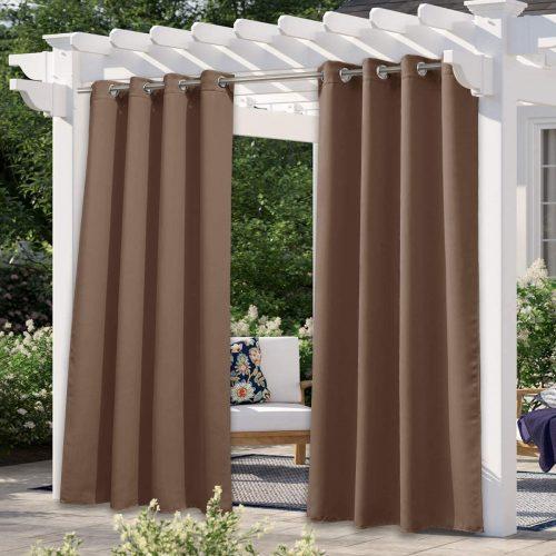 outdoor patio curtain