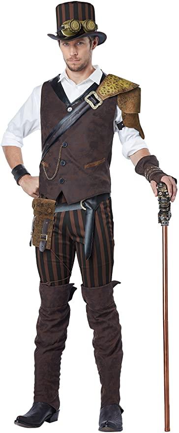 steampunk men's halloween costume