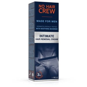 No Hair Crew Intimate/Private Hair Removal Cream for Men