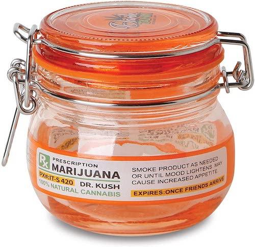 Dank Tank Prescription Glass Stash Jar