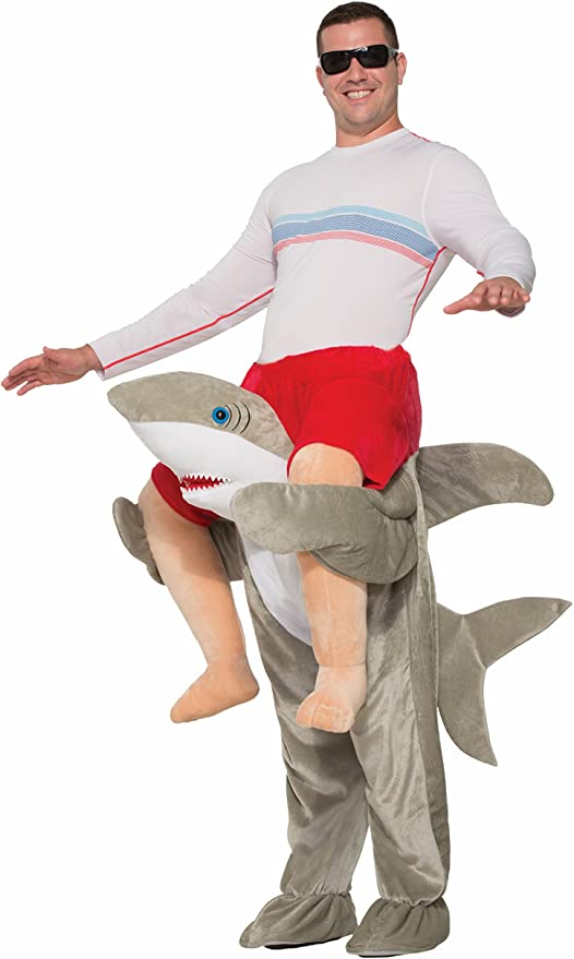 surfer riding shark halloween costume