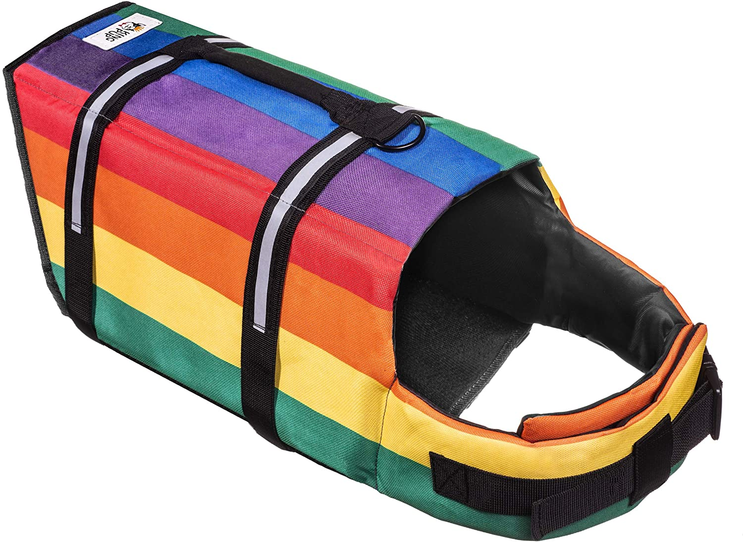 King Pup Rainbow Life Jacket