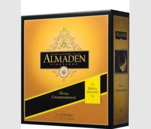 best boxed wine almaden chardonnay