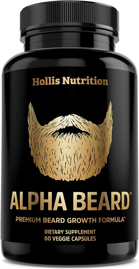Alpha Beard Vitamins