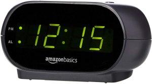 best alarm clocks amazon basics small digital