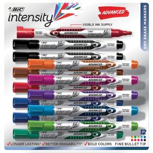 bic intensity advanced dry erase marker