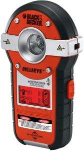black and decker line laser stud finder