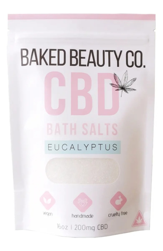 Baked Beauty Co. CBD Eucalyptus Bath Salts