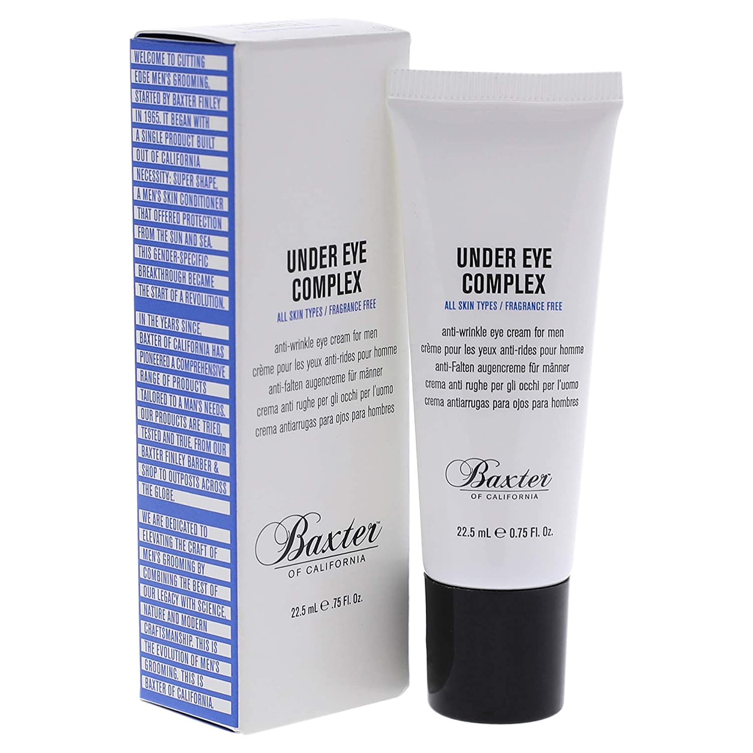 Baxter of California Under Eye Cream for Men; best men's skincare products
