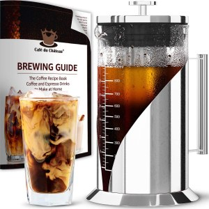 cold brew coffee maker cafe du chateau