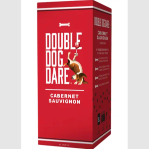best boxed wine double dog dare cabernet