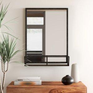 Evendale accent mirror shelf, best mirror shelves