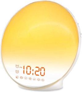 best alarm clocks jall sunrise