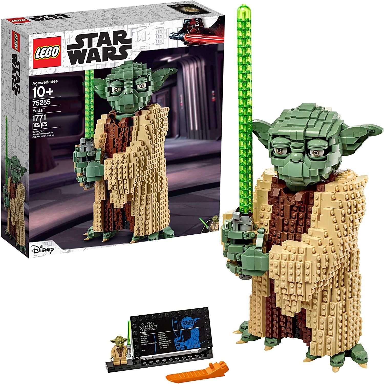 LEGO star wars yoda model, best LEGO sets for adults